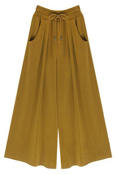 Affordable High-Waisted Plus Size Wide Leg Palazzo Pants
