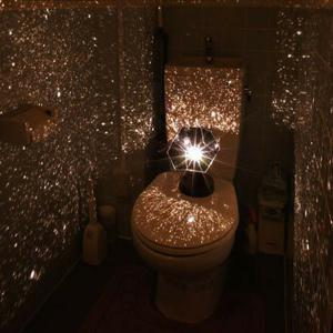 Romantic DIY Constellation Starry Sky 2W LED Projection Lamp -