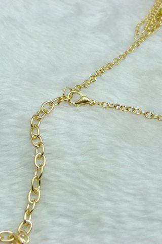 Stylish Rhinestoned Link Chain Anklet For Women от Rosegal.com INT