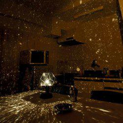 Romantic DIY Constellation Starry Sky 2W LED Projection Lamp