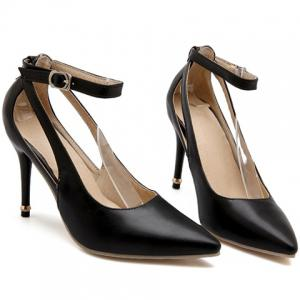 Graceful Ankle Strap and Hollow Out Design Pumps For Women -