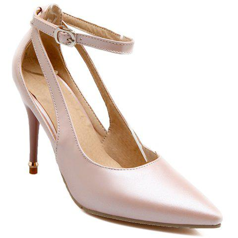 Buy Graceful Ankle Strap and Hollow Out Design Pumps For Women