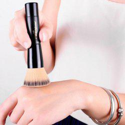 Élégant fine Flat Fiber Powder Brush Foundation Brush - Noir