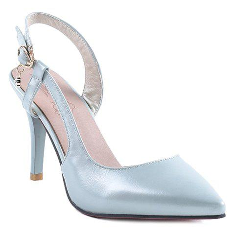 Cheap Elegant Slingbacks and PU Leather Design Pumps For Women
