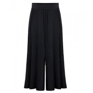High Waist Plus Size Palazzo Pants