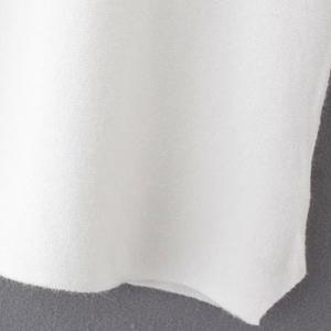 Casual Stand Collar Embroidered Short Sleeve Sweater For Women -