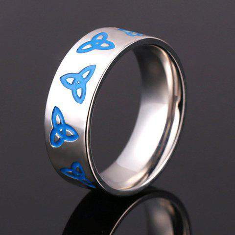 Outfit Stainless Steel Dart Pattern Ring