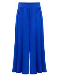 High Waist Plus Size Palazzo Pants -
