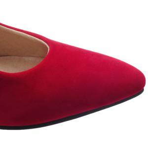 Stylish Stiletto Heel and Pointed Toe Design Pumps For Women -