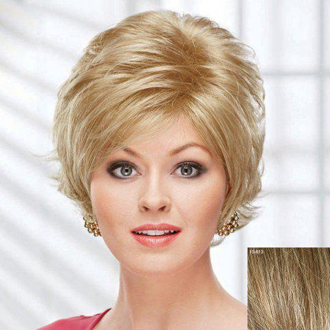 Fluffy Curly Short Human Hair Wig For Women 173868013