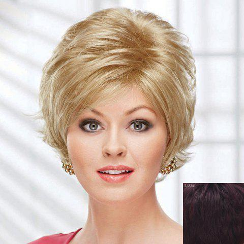Fluffy Curly Short Human Hair Wig For Women 173868006