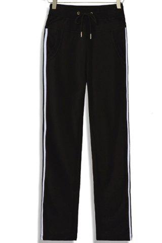 Women's Casual Drawstring Loose-Fitting Striped Pants от Rosegal.com INT