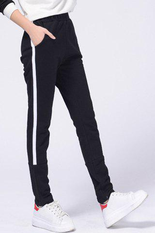 Women's Casual Drawstring Loose-Fitting Striped Sports Pants от Rosegal.com INT