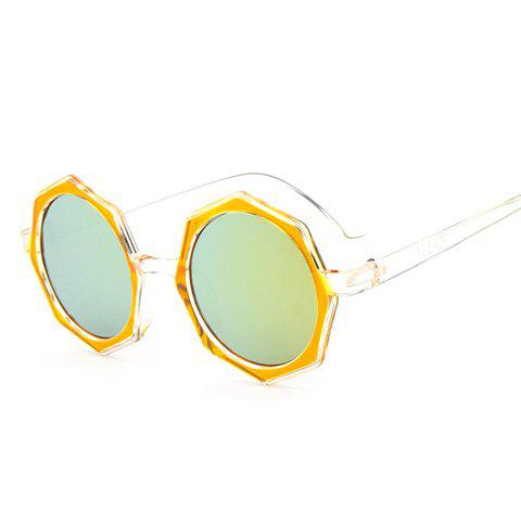 Best Chic Polygonal Frame Candy Color Lenses Sunglasses For Women