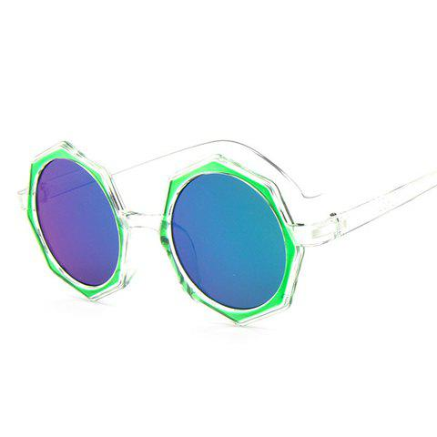 Cheap Chic Polygonal Frame Candy Color Lenses Sunglasses For Women