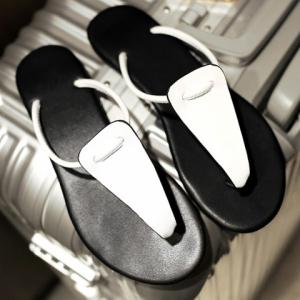 Casual Flat Heel and Flip Flop Design Slippers For Women -