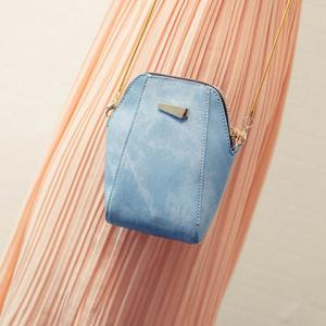 Trendy Solid Colour and PU Leather Design Shoulder Bag For Women -