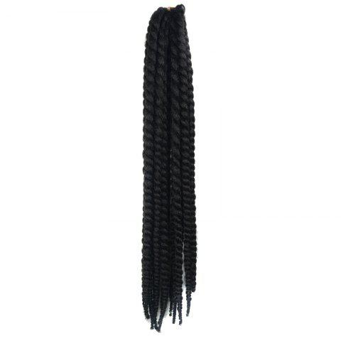Outfits Stunning Long Kanekalon Synthetic Dreadlock Braided Hair Extension For Women - #04  Mobile