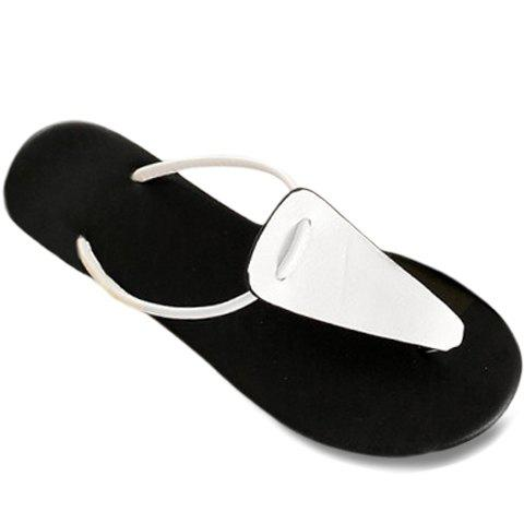 Affordable Casual Flat Heel and Flip Flop Design Slippers For Women