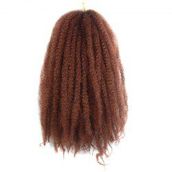 Trendy Long Kanekalon Synthetic Fluffy Afro Kinky Curly Braided Hair Extension For Women -