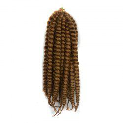 Stylish Long Kanekalon Synthetic Twist Braided Hair Extension - GOLDEN BLONDE