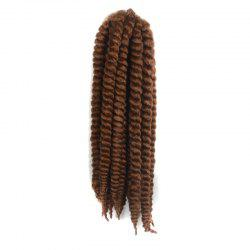 Stylish Long Kanekalon Synthetic Twist Braided Hair Extension -