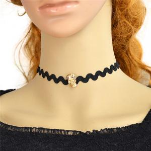 Punk Skull Choker Necklace