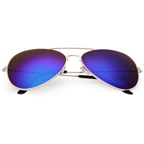Buy Cool Summer Metal Teardrop Color Mirrors Frog Film Unisex Sunglass
