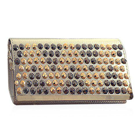 Fashion Fashionable Rivets and PU Leather Design Shoulder Bag For Women