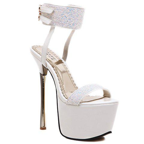Buy Sexy Sequins and Platform Design Sandals For Women