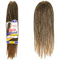 Vogue 14Pcs/Lot Brown Ombre Synthetic Handmade Medium Braided Hair Extension For Women -