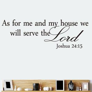 Bible Sentence Removeable Quote Wall Sticker