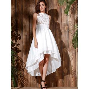 High Low Maxi Wedding Formal Dress -