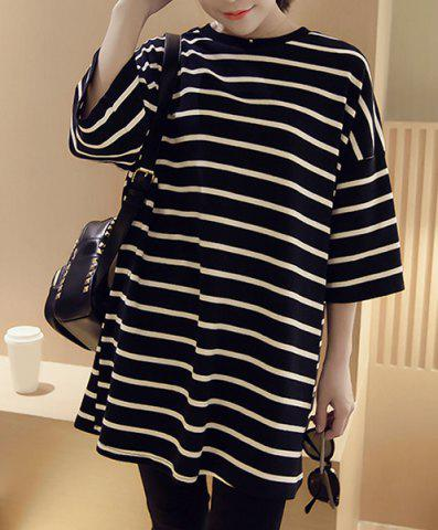 Online Tunic Striped Tee