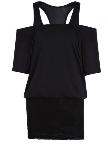 Shop Racerback Tank Top and Off The Shoulder Two Piece Bodycon Dress