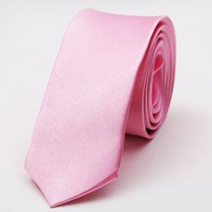 Stylish Various Candy Colors 5CM Width Tie For Men - Pink