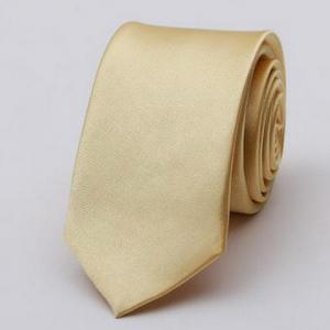 Stylish Various Candy Colors 5CM Width Tie For Men - Champagne