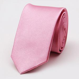 Stylish Various Candy Colors 5CM Width Tie For Men - Light Pink