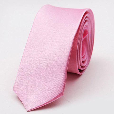 Discount Stylish Various Candy Colors 5CM Width Tie For Men - PINK  Mobile