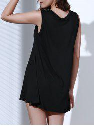 Casual Solid Color Sleeveless Tank Top Dress For Women