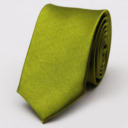 Stylish Various Candy Colors 5CM Width Tie For Men - OLIVE GREEN