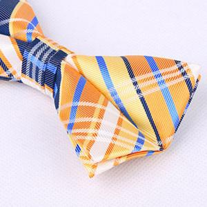 Stylish Tartan Check Pattern Bow Tie For Men - RED