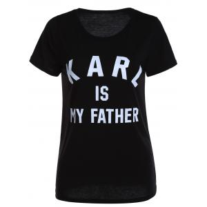 Casual Karl Graphic Tee -
