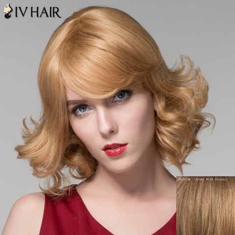 Outfit Shaggy Wavy Side Bang Capless Stunning Short Real Natural Hair Wig For Women