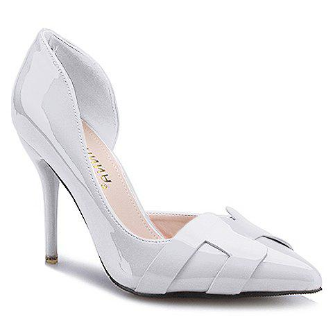 Best Trendy Solid Color and Patent Leather Design Pumps For Women
