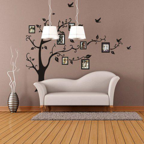 Affordable Large Size Plant Pattern Photo Frame Wall Stickers