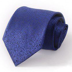 Stylish Splash-Ink Pattern 8.5CM Width Deep Blue Tie For Men