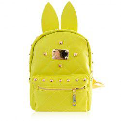 Sweet Rabbit Ears and Candy Color Design Backpack For Women -