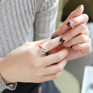 Alloy Wave Ring -