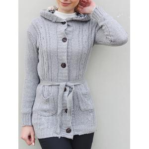 Women's Long Sleeve Hoodie Coat Cardigans trench Sweater